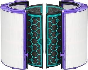 Dyson DP04 HP04 TP04 Pure Cool™ Filtro HEPA de vidrio y filtro de carbón activado interno