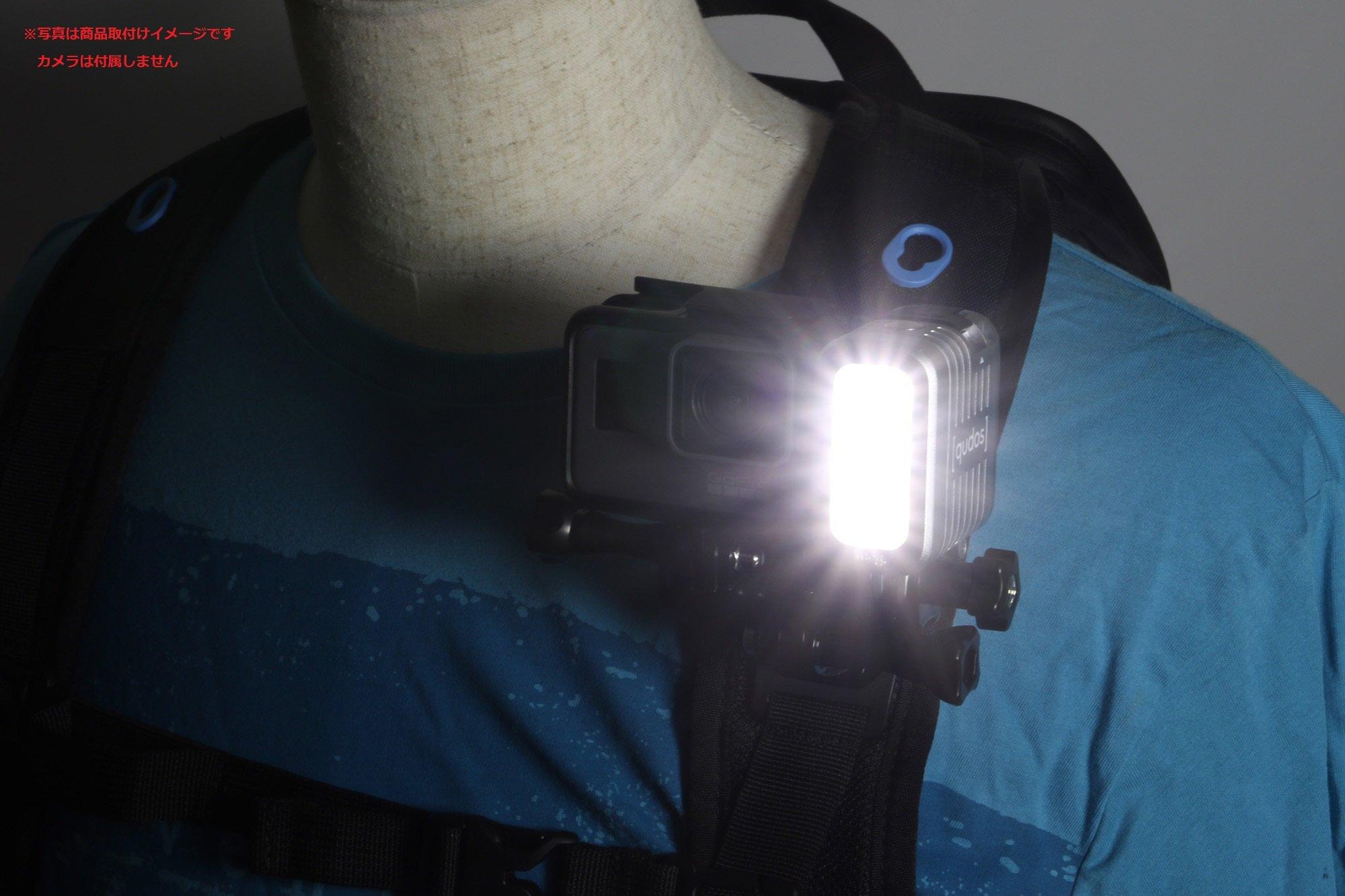 KNOG Qudos Action Video Light. Underwater GoPro Dive Light Accessories. Scuba Diving, Snorkeling.
