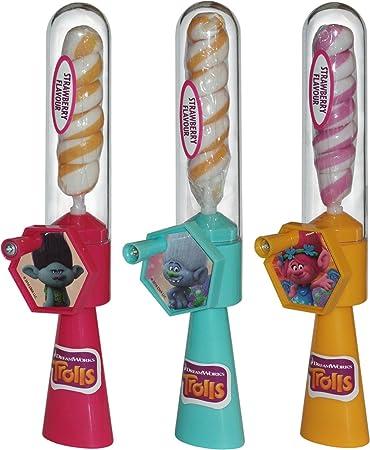 Trolls Twist Pop Lollipop (2 mitgeliefert, Farben zufällig gewählt ...