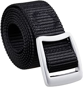 "moonsix Nylon Belts for Women,1.2/"" Width Tactical Military Style Outdoor Belt"