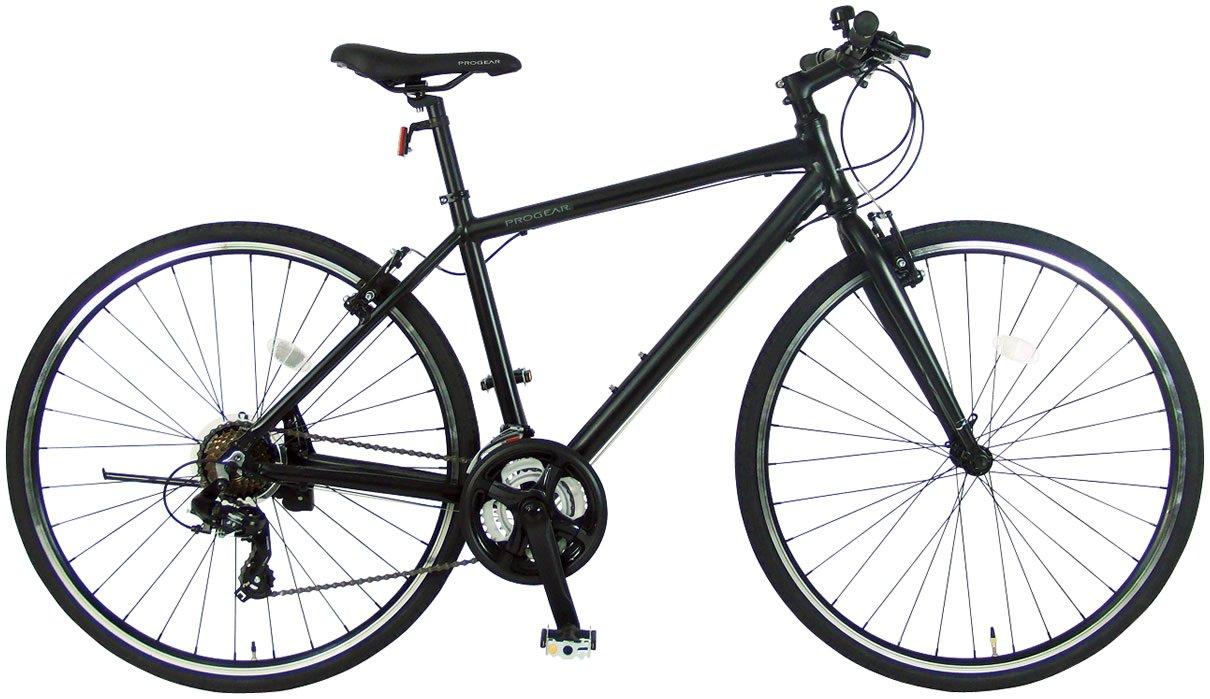 C.Dream(シードリーム) ファーストクロス FC70 アルミ製 クロスバイク ブラック シマノ変速機 100%組立済み発送 B072NBH4RS430mm
