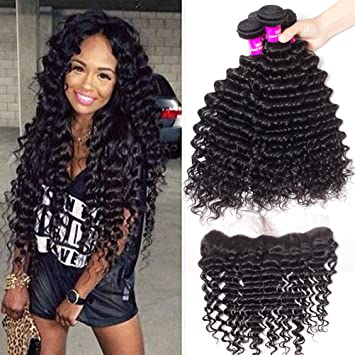 Amazon.com : Tinashe Brazilian Deep Wave Hair 16 Bundles with ...