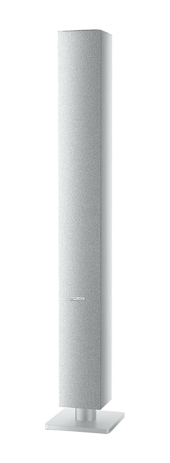 Muse M-1180 BTW 30W Blanco Altavoz - Altavoces (1.0 Canales, Inalámbrico y alámbrico, 3.5mm/USB/Bluetooth, 30 W, Blanco)