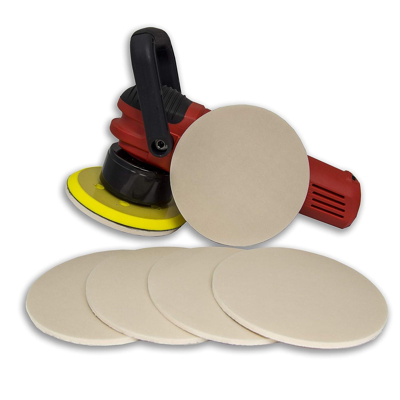 """3M 6/"""" 3000 grit HOOKIT Clean Sand 2085 P3000 Hook It TRIZACT Foam Discs 02085"""
