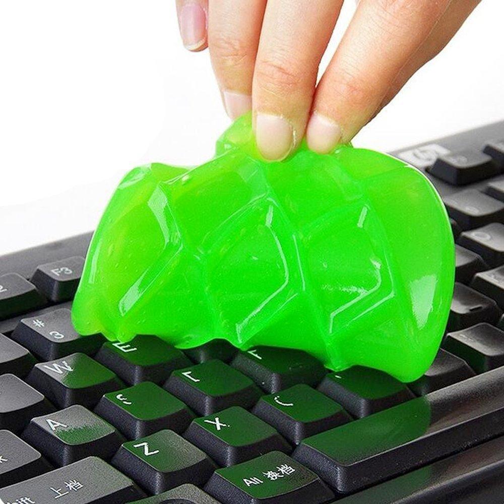 Minkoll decapante de Teclado, Masilla de Limpieza de Teclado de saleté Molle de Polvo de Gel de para los teléfono móvil de PC: Amazon.es: Informática