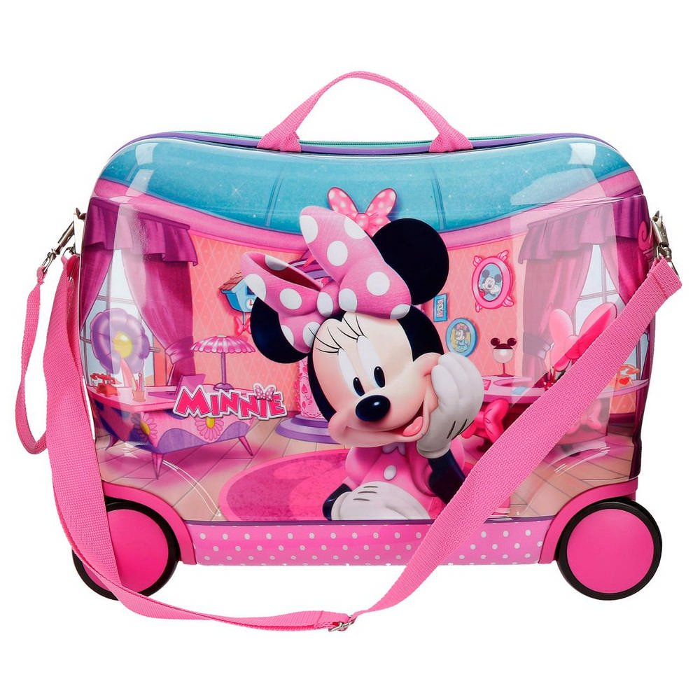 4bc000278 Disney Minnie Smile Equipaje Infantil, 50 cm, 34 litros, Rosa 42999C1