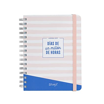 Mr. Wonderful - Agenda anual clásica 2019 diaria - Días de un ...