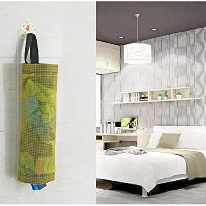 Gaddrt Home - Bolsa de almacenamiento para alimentos, soporte de pared, dispensador de plástico, organizador de cocina gris: Amazon.es: Hogar