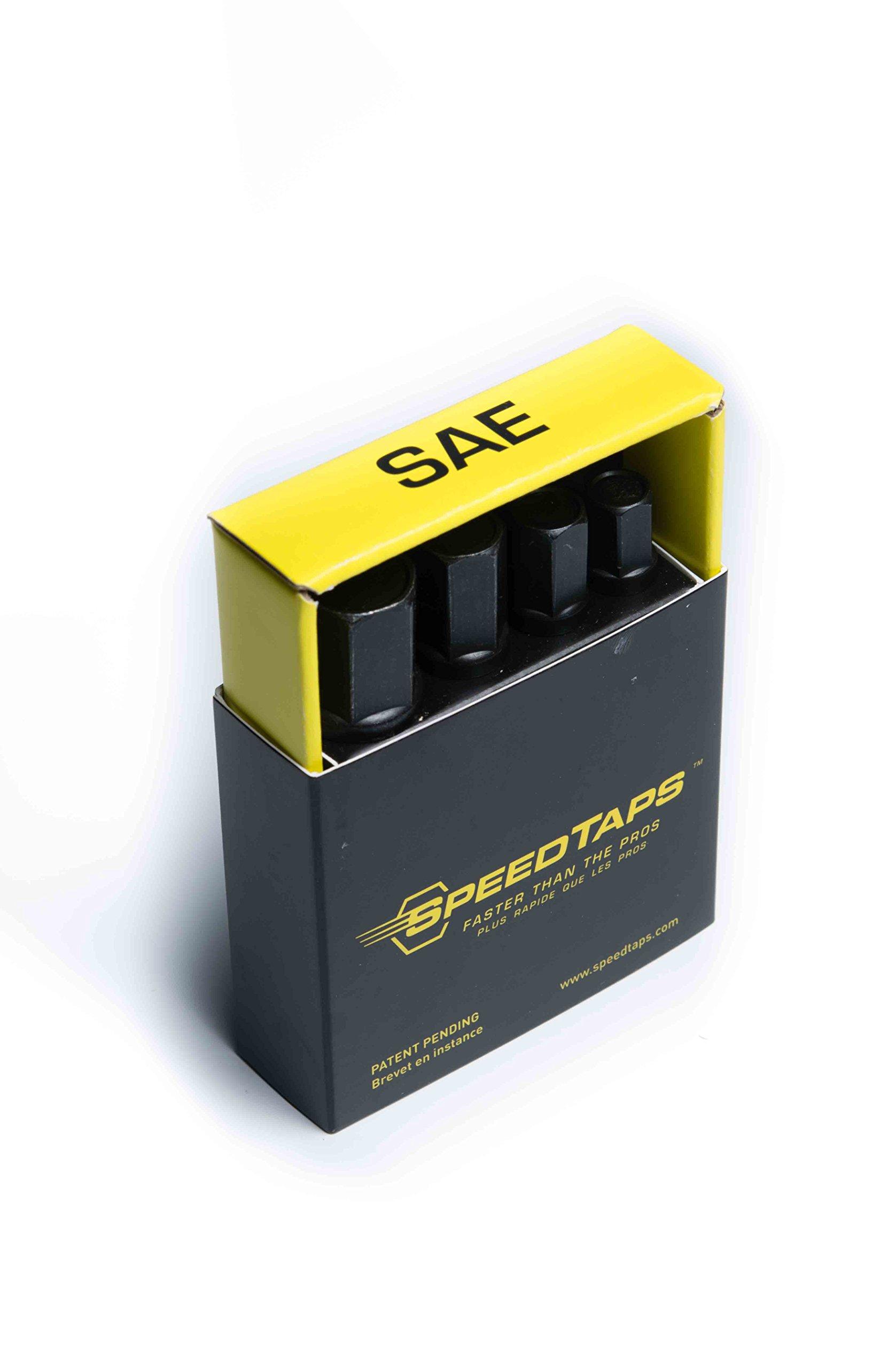 SpeedTaps SAE Set (1/4'',5/16'',3/8'',1/2'') by SpeedTaps