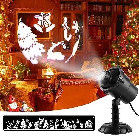 Luces de Proyector 3D de Navidad, MeeQee Proyectores de Proyector ...