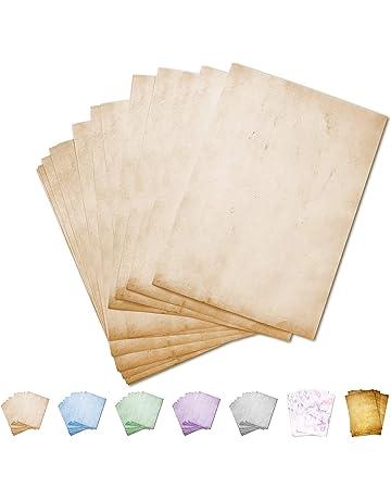 per inviti di matrimonio 50 fogli di carta martellata di lusso da 120 g//m/² creazione di biglietti occasioni speciali bianchi e in formato A4