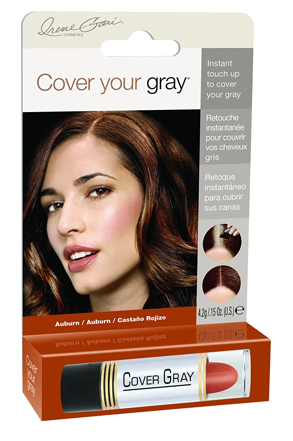 Amazon Cover Your Gray Touch Up Stick Auburn 015 Ounce Beauty