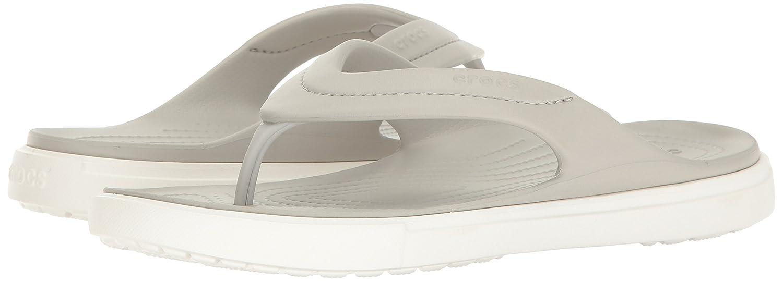 Crocs Unisex-Erwachsene Citilaneflip Pantoffeln Weiß Weiß/Weiß) (Pearl Weiß/Weiß) Weiß fd6636
