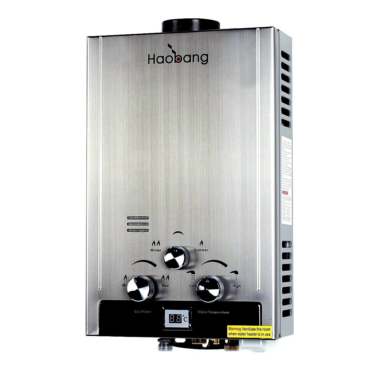 HB Chauffe-eau sans ré servoir Gaz modulant technologie breveté e JSD12-S01 (NG) mé thane