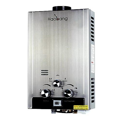 Ridgeyard 8l Lpg Propane Gas Tankless Instant Hot Water