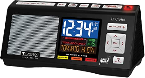 Amazon Com La Crosse Technology W85947 Tornado Alert Noaa Am Fm Severe Weather Radio Home Kitchen See more of national oceanic and atmospheric administration (noaa) on facebook. la crosse technology w85947 tornado alert noaa am fm severe weather radio