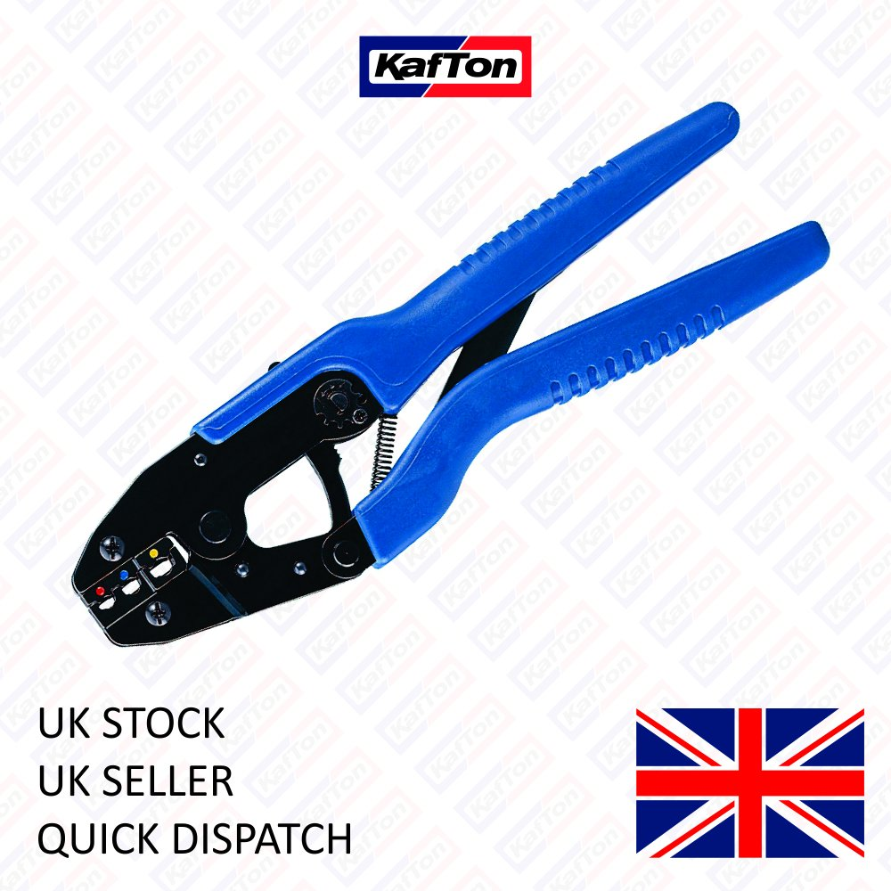 Kafton Ratchet 242mm Delux Quality Crimping Tool