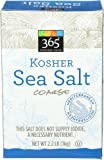 365 Everyday Value, Kosher Sea Salt Coarse, 2.2 Pound