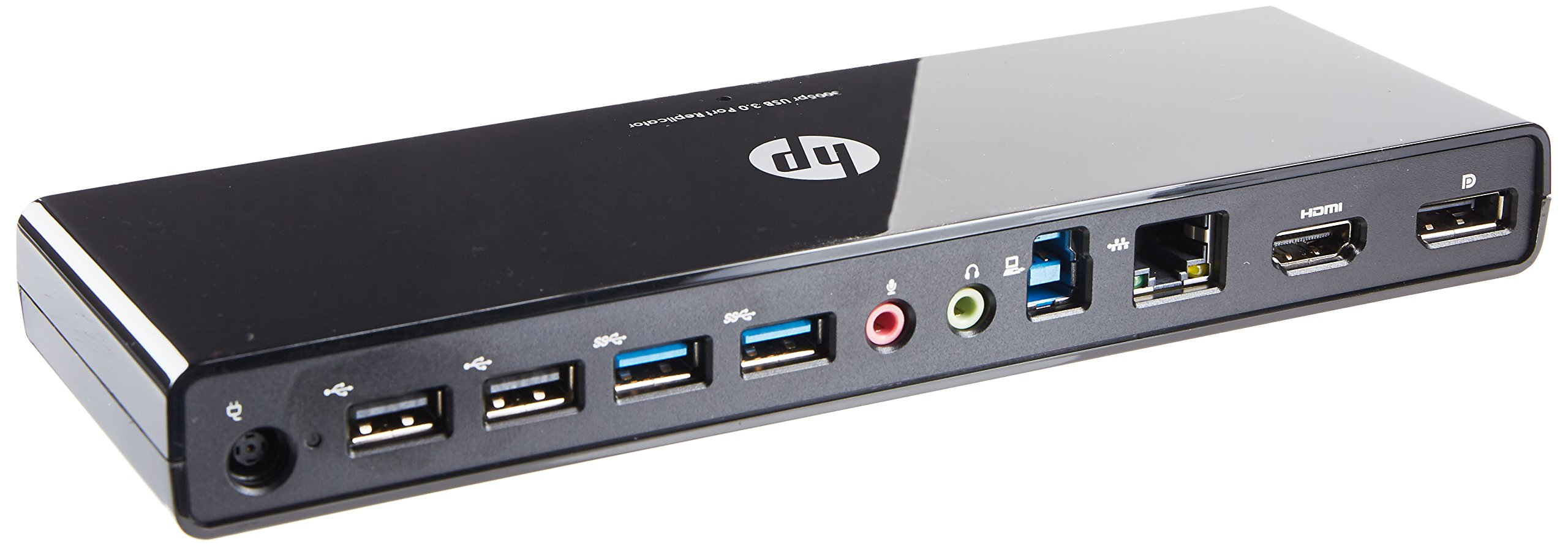 HP USB 3.0 Port Replicator Docking Station (H1L08AA#ABA)