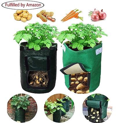 Amazon.com: Aquarius CiCI Bolsa de cultivo de patatas para ...