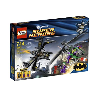 LEGO Super Heroes Batwing Battle Over Gotham City 6863: Toys & Games