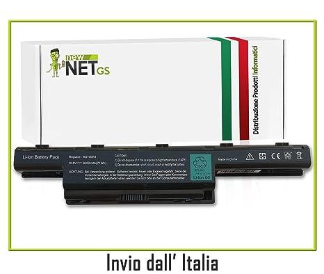 Batería para ordenador portátil Laptop Acer AS10D31, AS10D51, BT.00903.013, BT00603111, bt00607130, BT00603124, bt00604049, ...