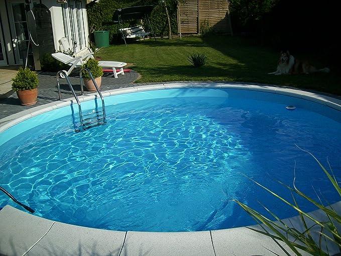 Waterman - Piscina redonda (150 cm de profundidad, 0, 6 cm de diámetro x 0, 6 cm de altura) 420 x 150 cm: Amazon.es: Jardín