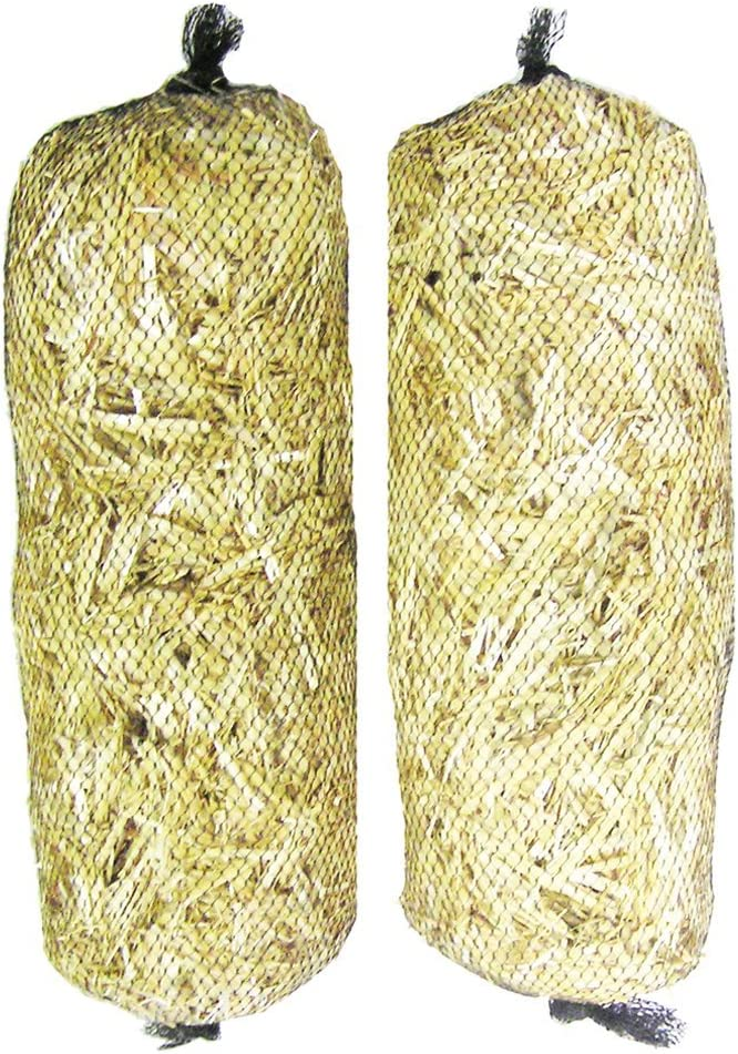 4x Barley-Straw Logs  for  Safe Natural Control of Algae /& Blanketweed In Ponds