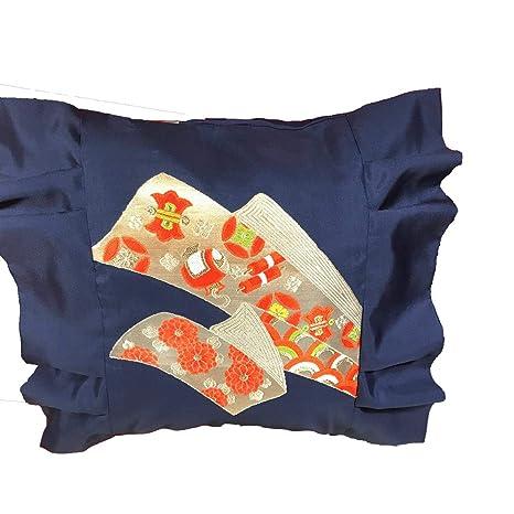 Funda de cojín japonés hecha a mano, de seda, diseño japonés ...