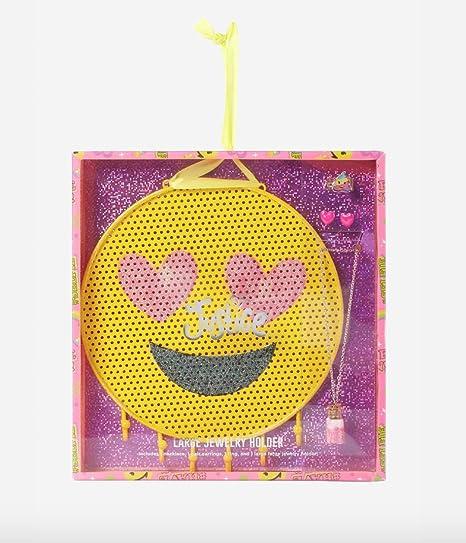 Amazon.com: Justicia Niñas Emoji Set de soporte de joyas ...