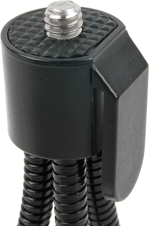 DURAGADGET Black Flexible Mini Tripod Compatible with Nikon 1 AW1 1 J4 /& 1V3