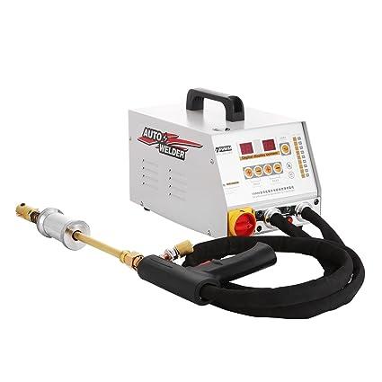 Moracle Soldador 12KW Dent Puller Repair Kit For Cars Extractor de vehículos Dientes Spotter Automático Ondulado Soldadura (2700A)