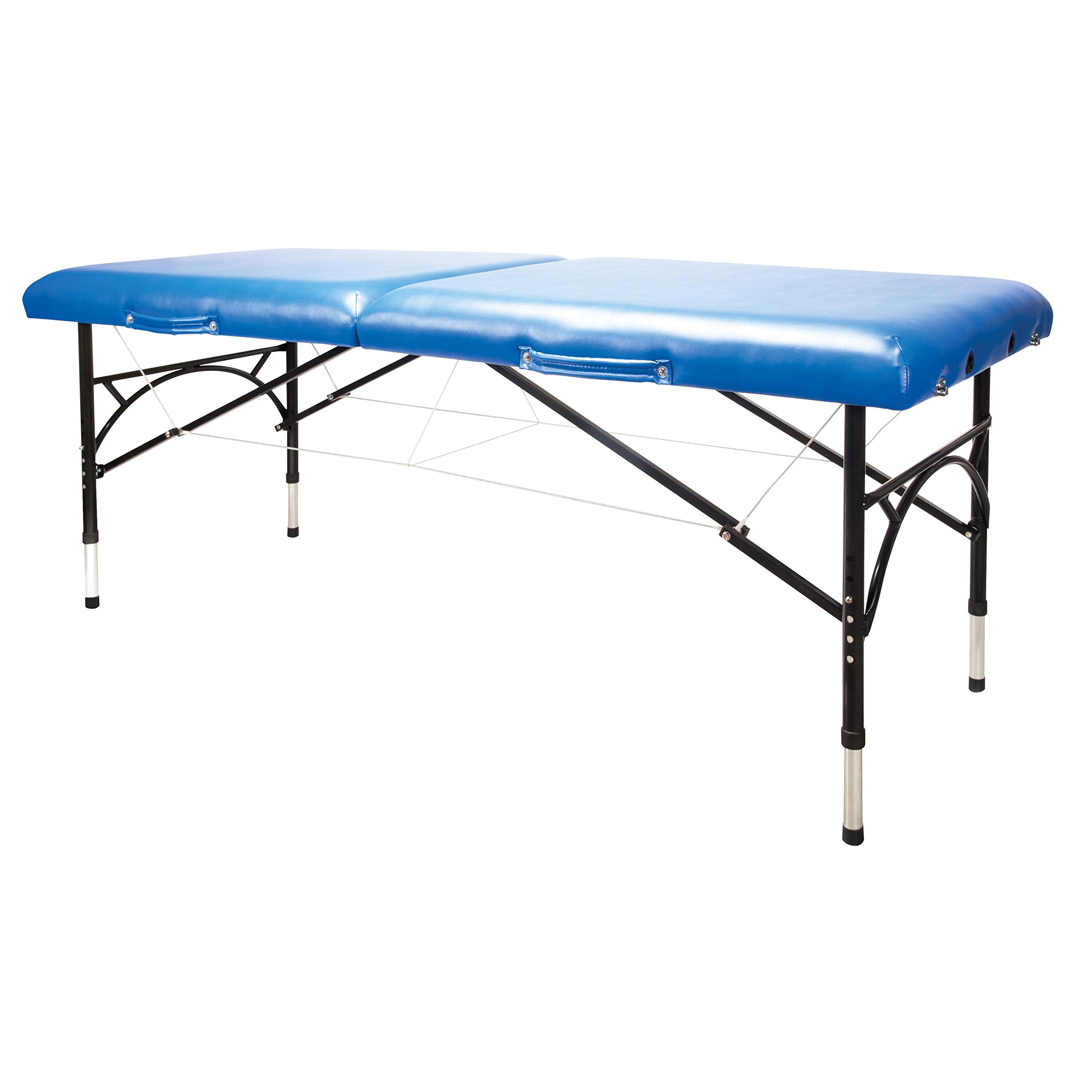 3B Scientific W60610MB Aluminum Portable Table, Blue