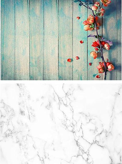 Nivius Photo Vintage Holz Mit Blumen Textur Kamera