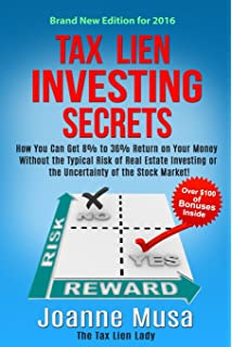 The complete guide to investing in real estate tax liens deeds hardcover 2002 tax lien investing secrets how you can get 8 to 36 return on fandeluxe Gallery