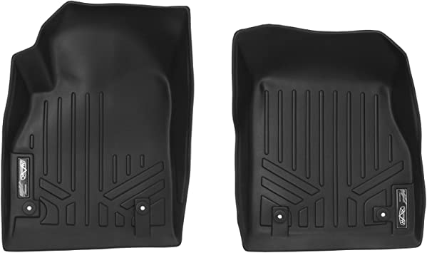 Amazon Com Maxliner Floor Mats 1st Row Liner Set Black For 2011