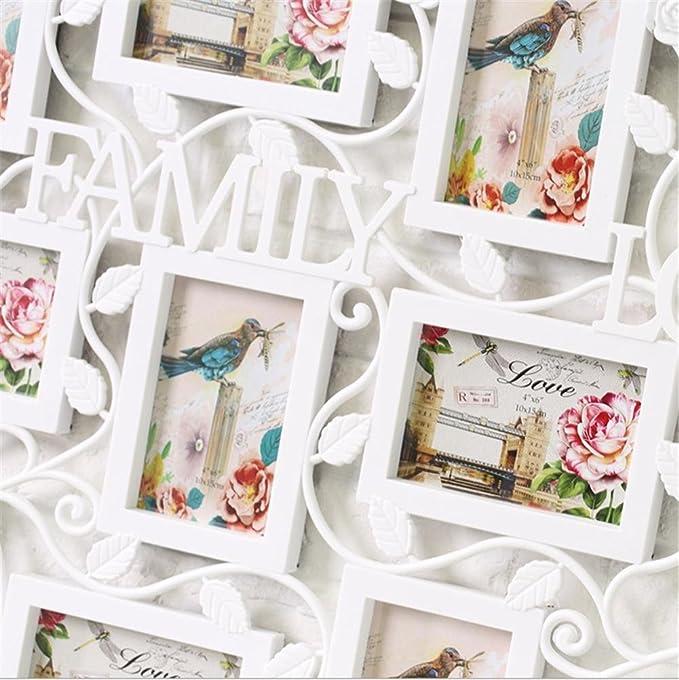 Ddj Marcos gran rompecabezas estilo 9 4 x 6 Collage marco de fotos ...