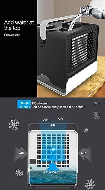 MIMI KING Personal Space Cooler con Mango, Mini Aire Acondicionado ...