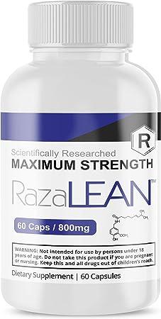 Razalean Diet Pill for Women Men Maximum Strength 800mg