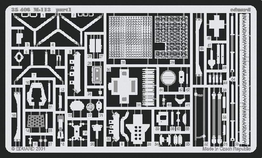 Eduard Accessories 35406/Modello Costruzione di M 113/Foto Foto/ätzsatz
