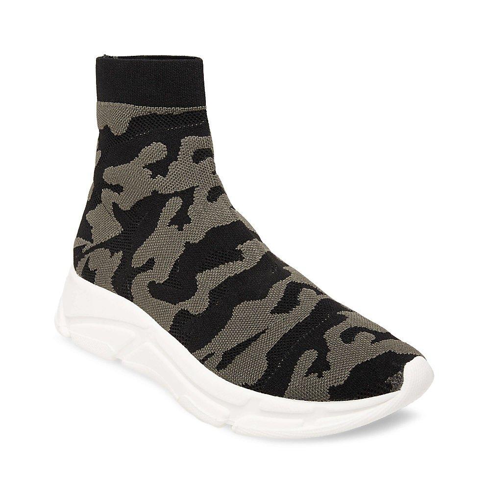 Steve Madden Women's Bitten Sneaker B07BMFFQTY 8 B(M) US|Camouflage