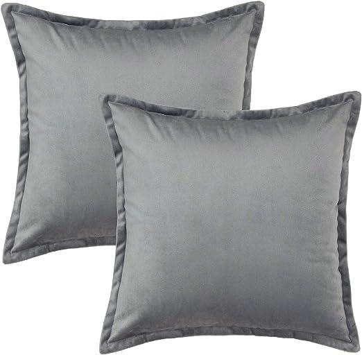 Funda de almohada blanco íntimos rojo almohadón 40x40 cojines decorativos con cierre de cremallera