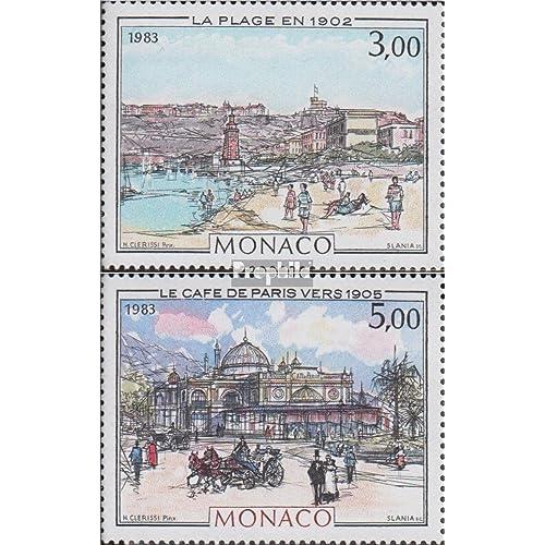 monaco 1589-1590 (complète.Edition.) 1983 Mote carlo & monaco (Timbres pour les collectionneurs)
