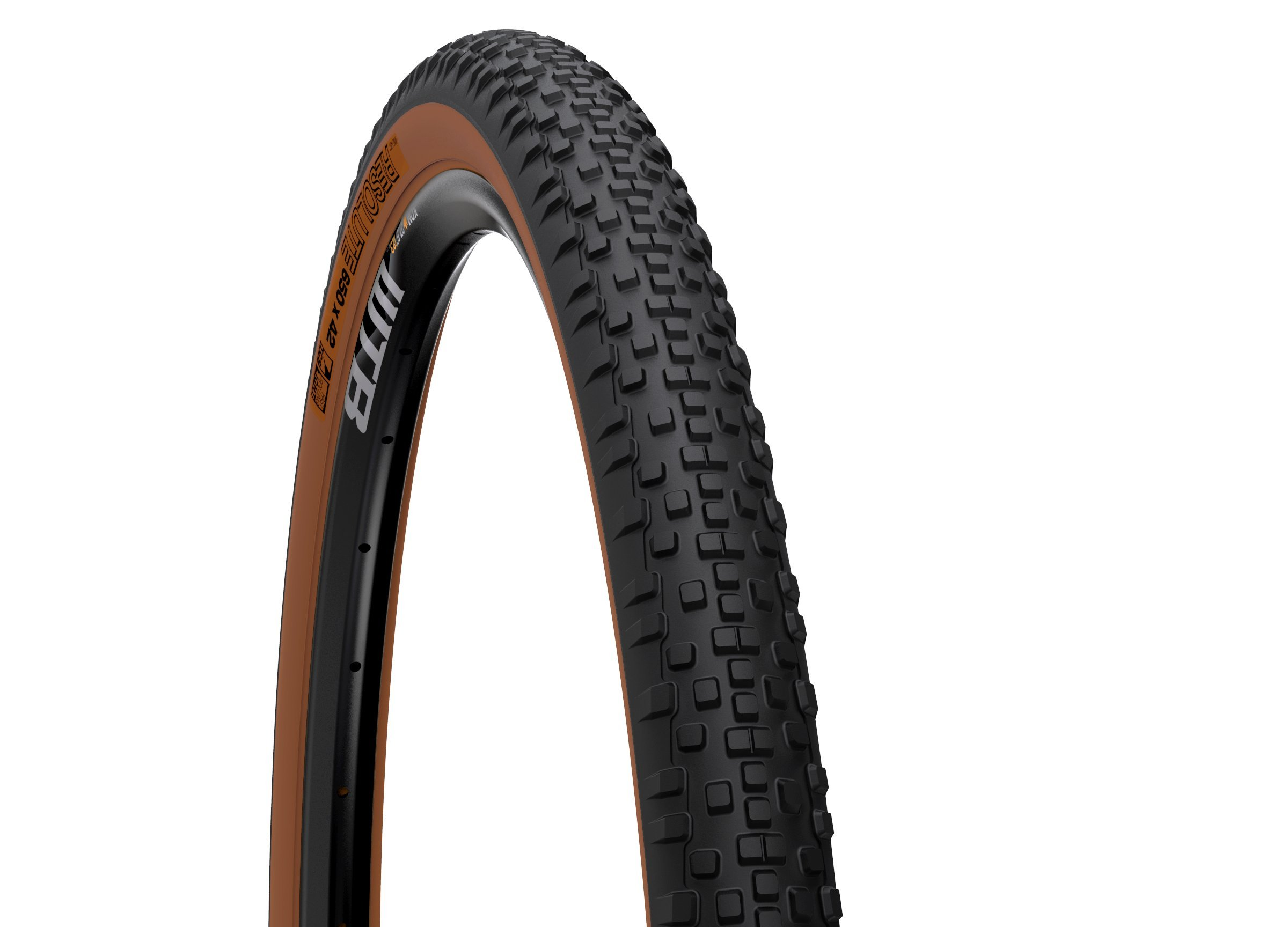 WTB Resolute 700 x 42 TCS Light Fast Rolling tire - Tanwall
