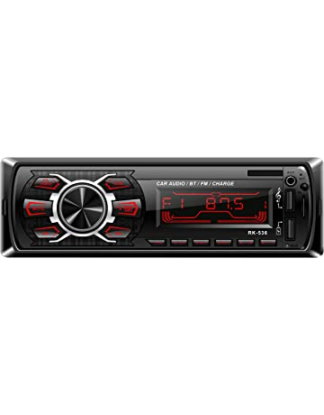 Radio de Coche, Rixow Autoradio FM Estéreo Bluetooth 60W*4 Doble USB Carga Rápida