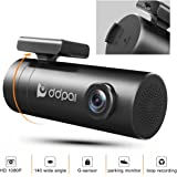 Wifi Dash Cam, DDPai Mini Pro Car Camera - 1080P HD Dashboard Camera, F1.8 Aperture WDR for Better Night Driving Recorder, 4-Lane Wide-Angle Lens, G-Sensor, Loop Recording, Sony Sensor