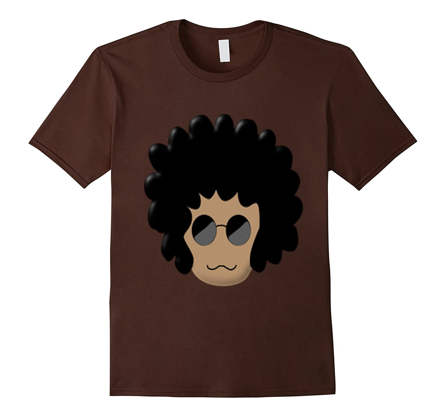 Afro Soul Nerdy White Brother T Shirt 7-TH