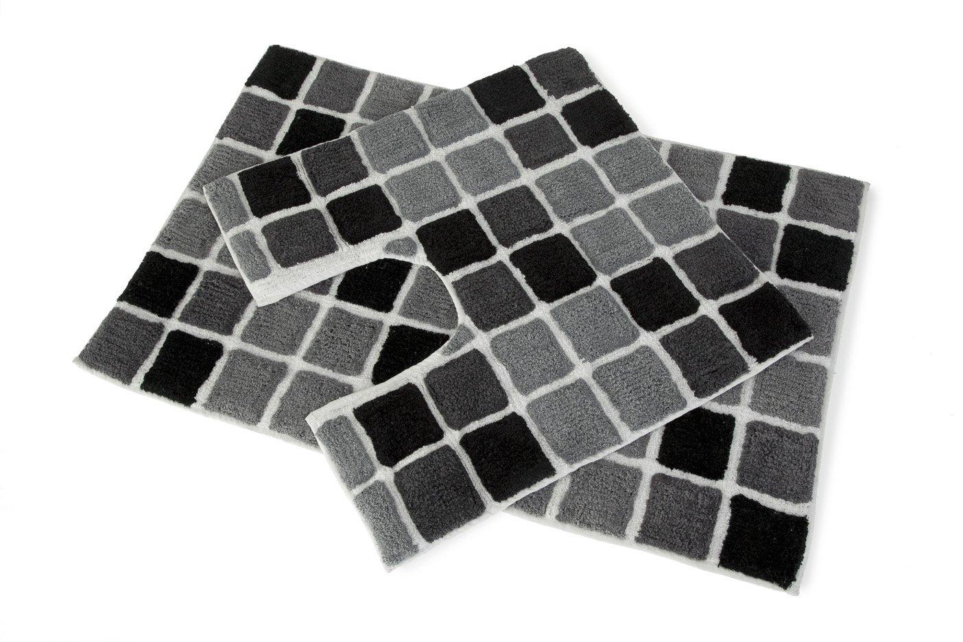 bathmat mats mat flat sheridan laid black white and bath newbery