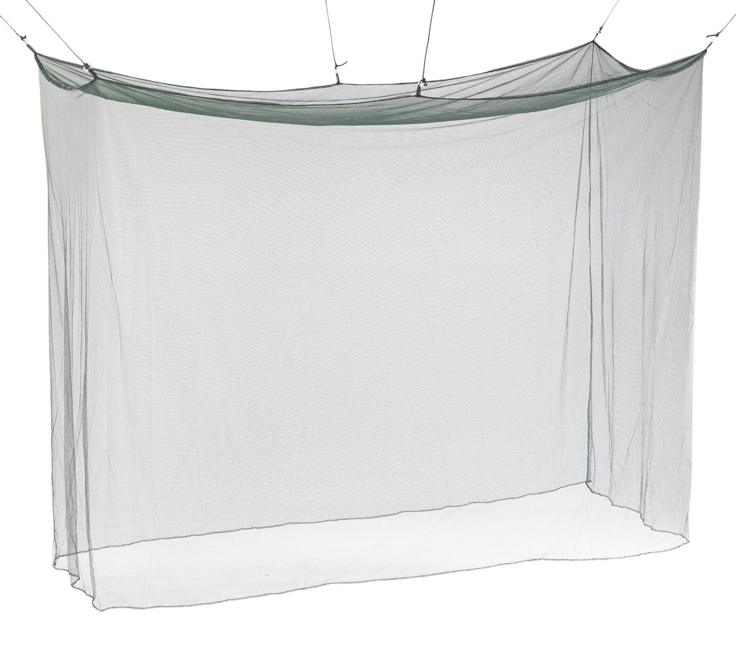 Atwater Carey Mosquito Net Treated with Insect Shield Permethrin Bug Repellent, Hanging Screen Single Cot Net