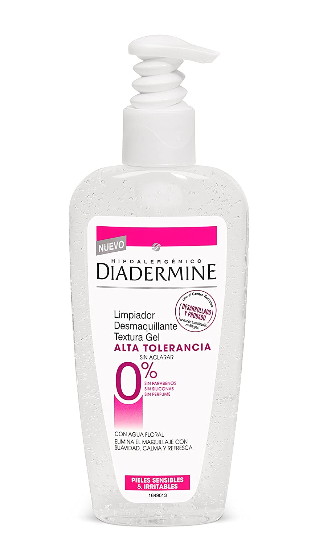 Diadermine - Limpiador desmaquillante textura gel alta tolerancia 200ml: Amazon.es: Belleza